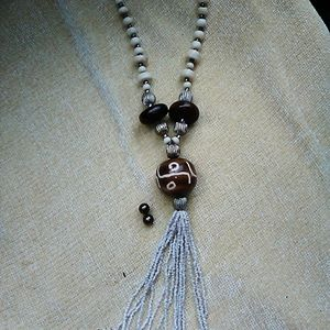 Jewelry - Beaded necklace and earrings